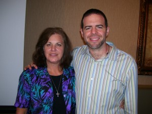 SEO expert, Margaret Hampton, joins with internet marketing guru, Howie Schwartz, in Orlando, Florida