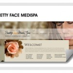 ELS Custom Web Design For Pretty Face Medispa
