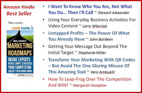 Amazon Best Selling Book - Small Business Roadmaps